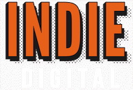 Indie Digital Logo for the footer of website